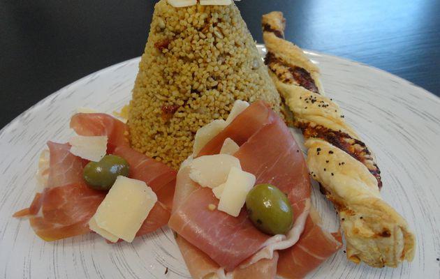 Salade de céréales aux parfums d'Italie