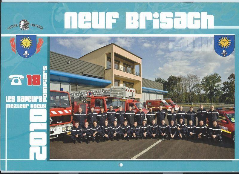 Collection: Calendrier des pompiers de Neuf-Brisach