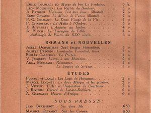 """Renée Dunan """"La Culotte en jersey de soie"""" (La Pensée Française - 1923)"""