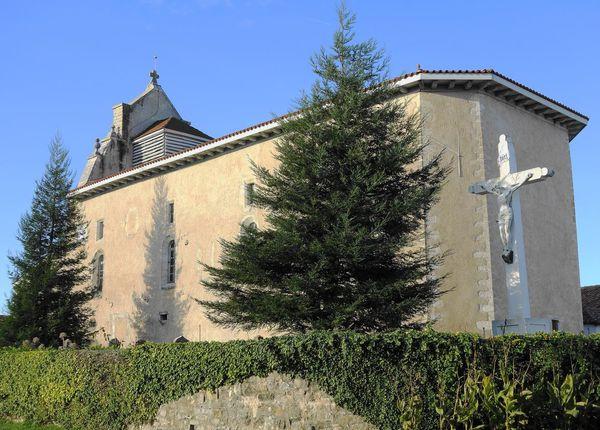 Eglise Saint-Jean-Baptiste, Mouguerre ( Pyrénées-Atlantiques 64 ) A