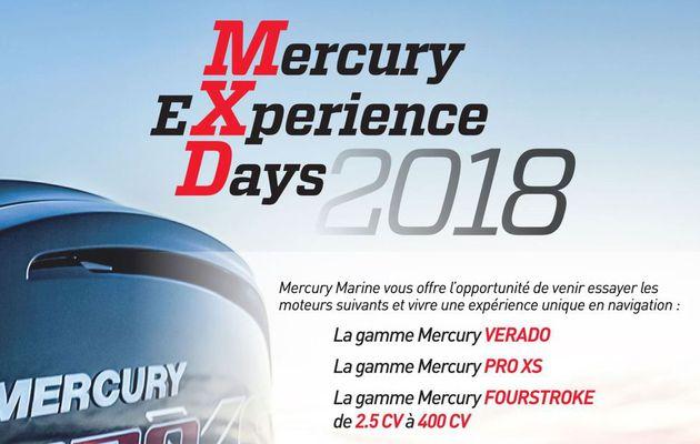 Eaux Intérieures, Atlantique et Méditerranée - 4 Mercury EXperience Days (MXD) organisés en juin et juillet