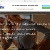 La SFM Societe Francaise de Mesotherapie vous présente son nouveau site WEB www.sfmesotherapie.com - sfmesotherapie.over-blog.com