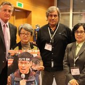 To South Korean Judge, SHIM Dam: Respect the workers' constitutional rights!