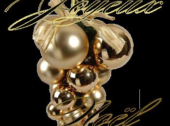 Joyeux Noël - Boules - Décoration - Noël 2015 - Render - Tube - Gratuit