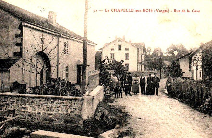 La Chapelle aux Bois autrefois