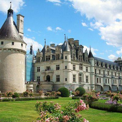 Un castillo de antaño en el Valle de Loira