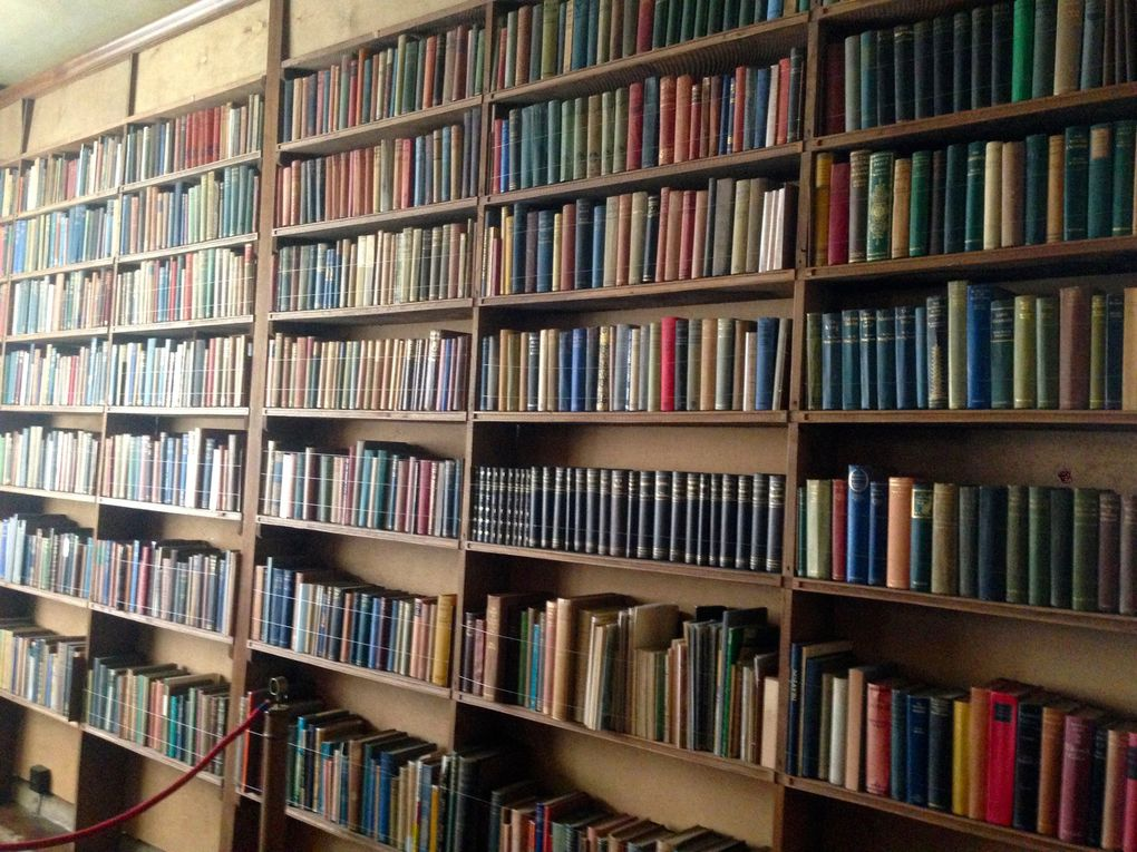 La bibliothèque de Vita et Harold - 2 photos
