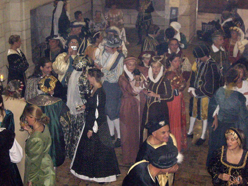 Nos sorties costumées de l'année 2008, Vaux le Vicomte et Chambord.