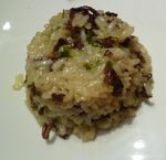 Risotto aux giroles avec actifry