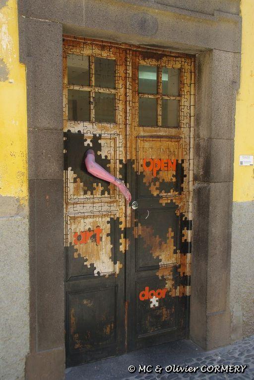 Mai 2014 - Funchal : Portes peintes ...