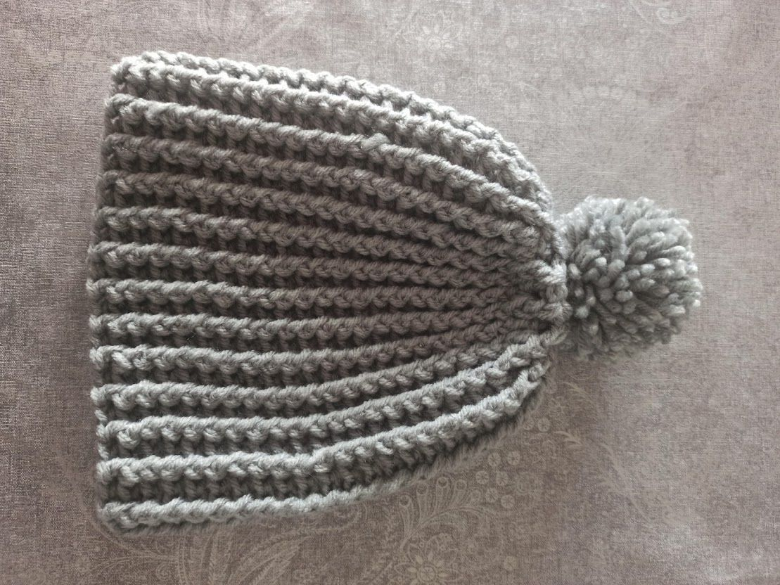 Bonnet enfant au crochet