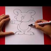 Como dibujar un oso de peluche paso a paso | How to draw a teddy bear
