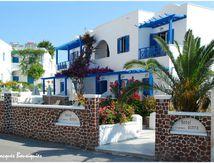 L'hôtel Astro, à Kamari