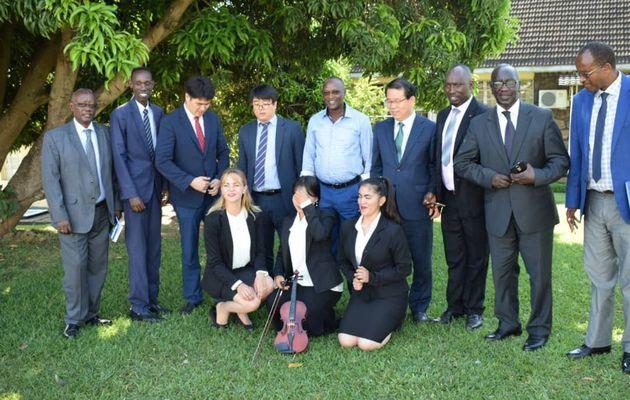 L'Association sud-coréenne IYF va construire un centre international pour jeunes