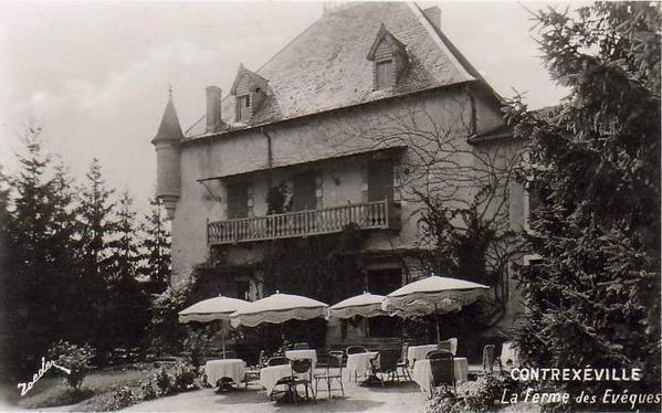 Ferme d'Agéville, devenue Golf-Club de Contrexéville, puis ferme, et maintenant propriété privée . . .