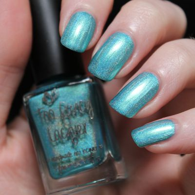 Today is Blue with Too Fancy Lacquer !