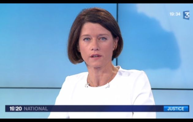 [2012 10 01] CAROLE GAESSLER - FRANCE 3 - LE 19 45 @19H30