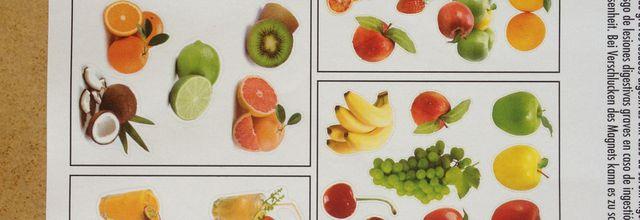 Magnets fruits et légume STICK'n Look