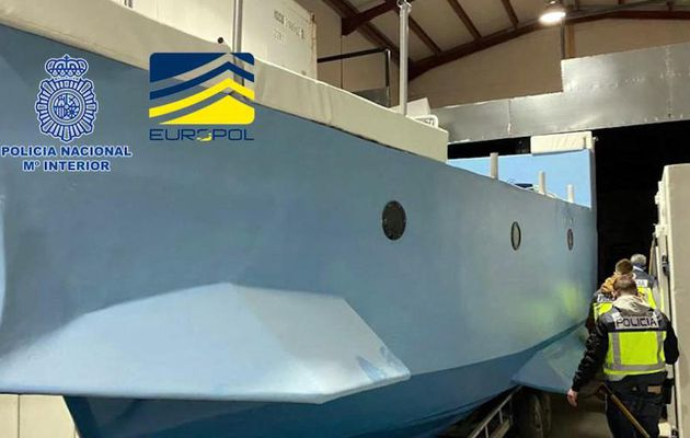 Saisie du premier « narco sous-marin » construit en Europe