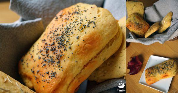 Pains feuilletés au maïs et au chorizo