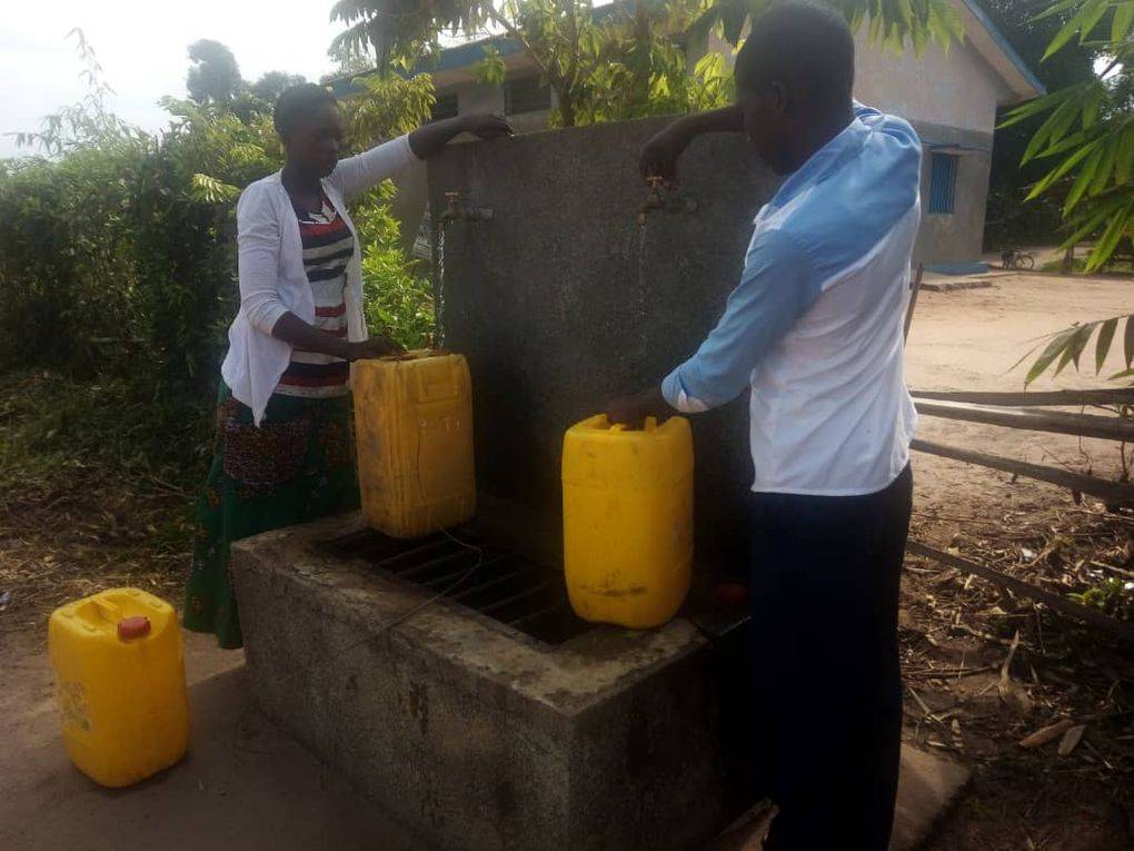 LA VILLE DE TSHUMBE SE DOTE D'UN SYSTEME D'ADDUCTION D'EAU POTABLE