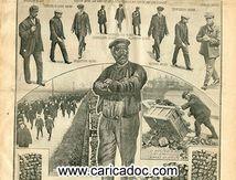 «1.400.000 mineurs grévictes forcent au chomage 335.000 ouvriers», Excelsior, 6/3/1912.