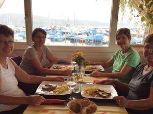 Restaurant de la plage à Avenches