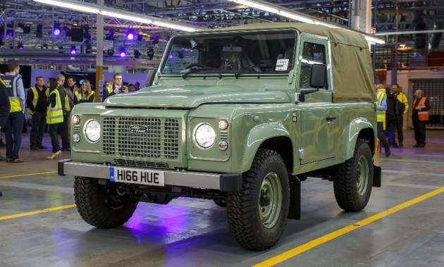 Le Land Rover Defender tire sa révérence.