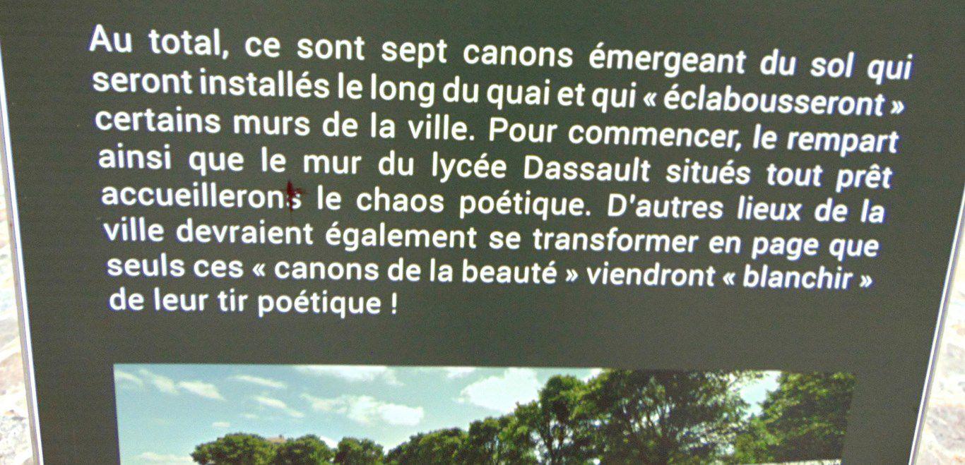 Rochefort (17) - 15 octobre 2020 - le Quai aux Vivres et l'Accro-mâts