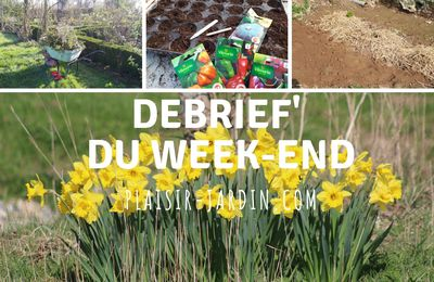 Debrief du week-end
