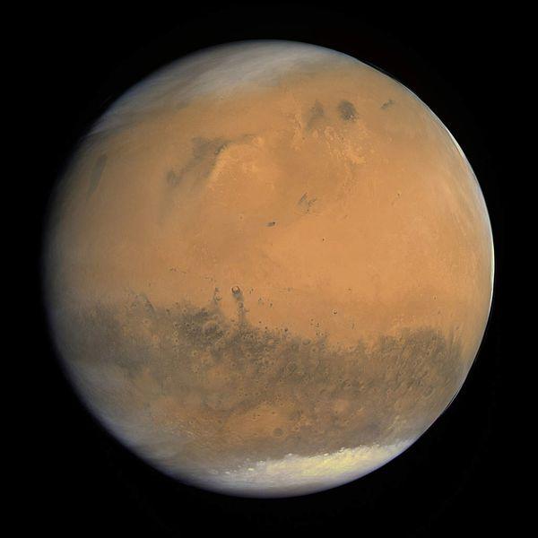 Mars et sa géologie