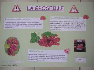 """5°B: expo """"Fruits et santé"""" bis 2013"""