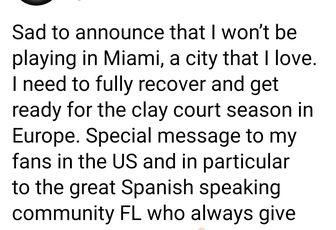 Forfait pour Miami