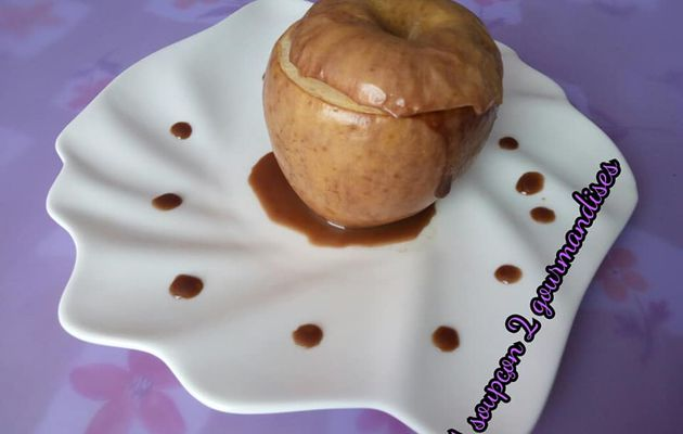 Pomme aux Carambar