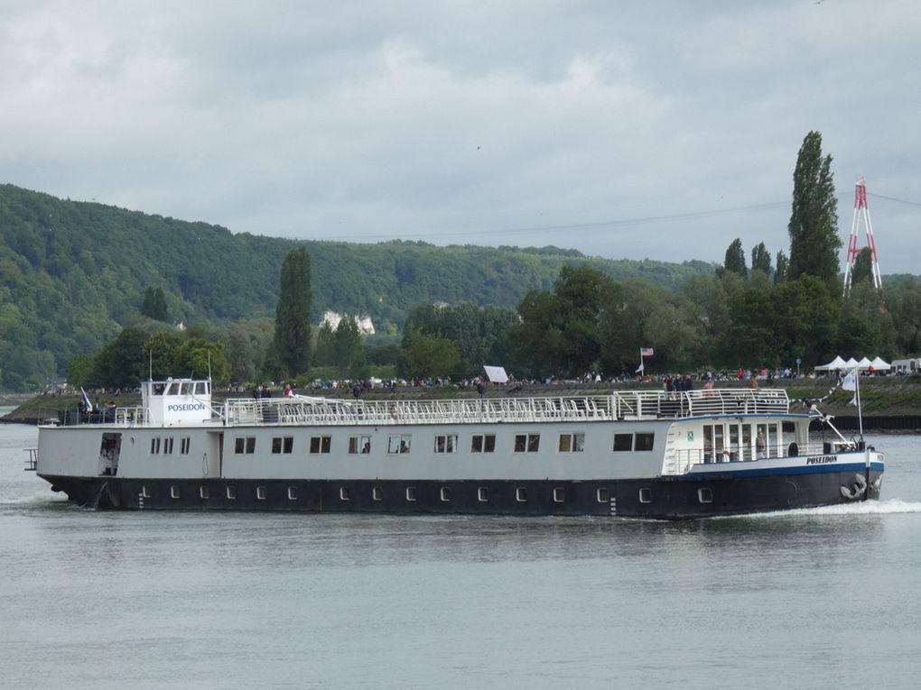 POSEIDON , pour la visite des bords de La Seine au départ de Rouen le 16 juin 2019