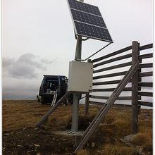 Val d'Allos l'implantation de relais radio pour la sécurité