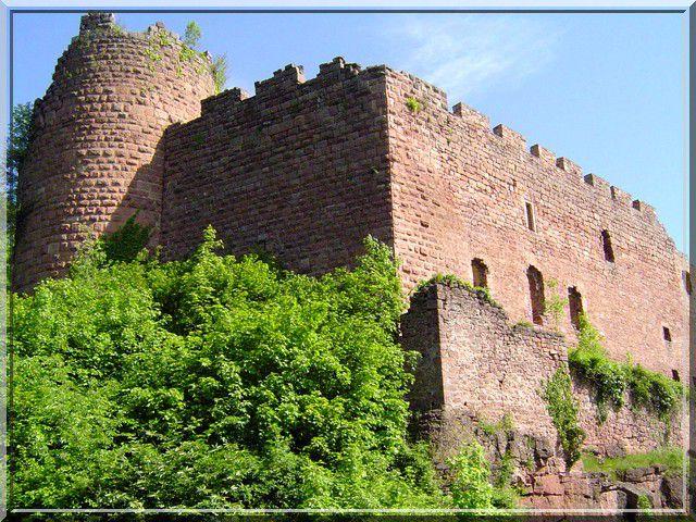 Diaporama château de Lutzelbourg - Ottrott