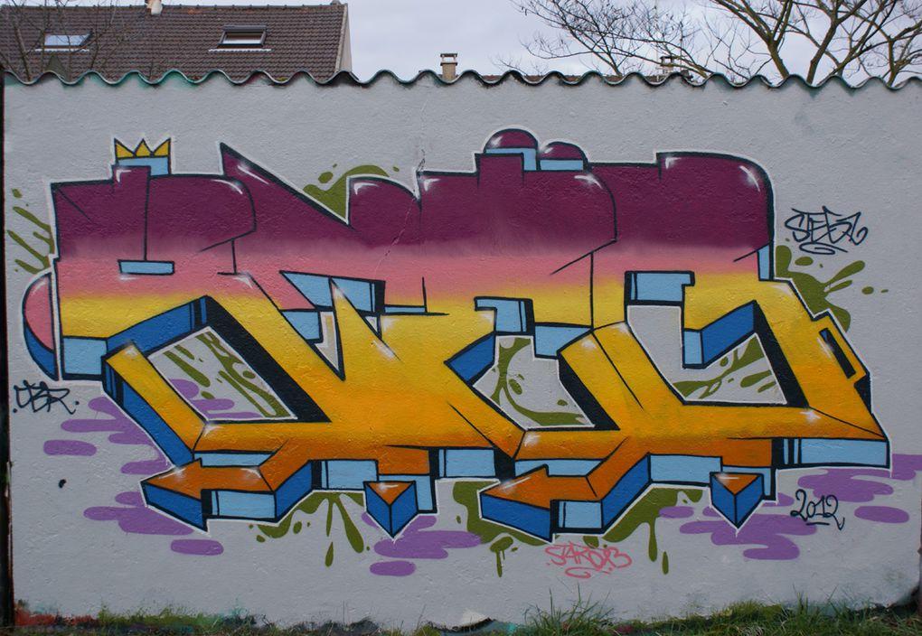 Album - Graffitis-Noisy-le-Grand-93160