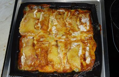 Gateau pommes de terre-camembert