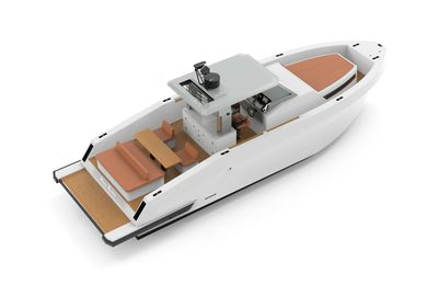 Mazu Yachts introduces a new week-end version of the 42 walk-around model for the 2021 season