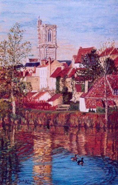 La Nièvre : Surgy est mon village natal ; Clamecy, la ville où j'ai fait mes études.