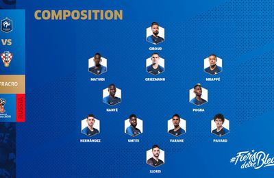 Composition equipe france
