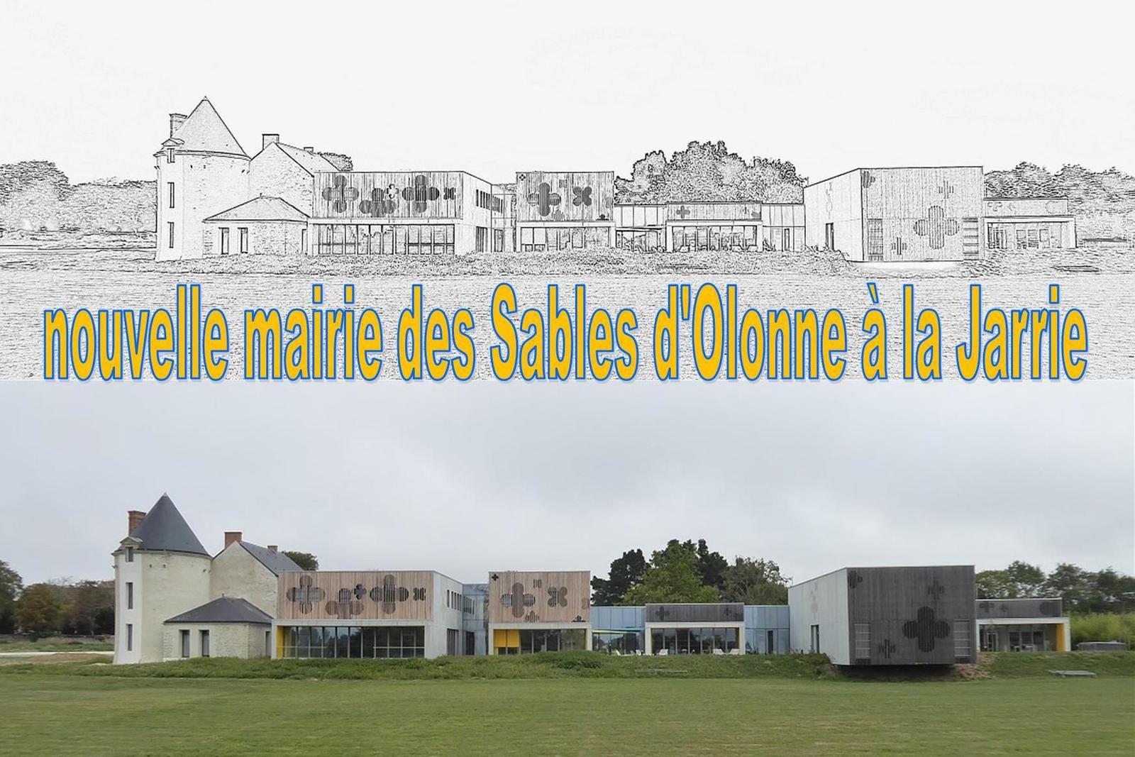 La mairie de La Jarrie à Olonne sur mer