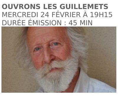 RCF - Ouvrons les guillemets - L'émission de Gilles Laporte