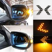 1 Pair Colors 14 SMD LED Arrow Panels Light For Car Side Mirror Turn Signal Indicator Light LY177-in Light Source from Automobiles & Motorcycles on Aliexpress.com | Alibaba Group