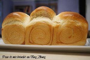 Mon pain de mie brioché au Tang zhong