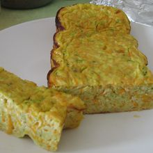 Flan carotte-courgette