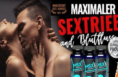 MSX6 Schweiz Erfahrungen, Pillen Nebenwirkungen & Bestellen