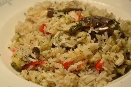 Riz aux 3 légumes au cookeo