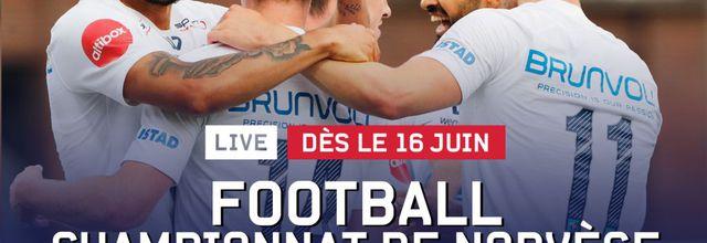 Le Championnat de Norvège de football à suivre en direct dès ce mardi sur Eurosport